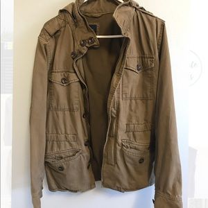 Gap jacket with packable hood. Size S